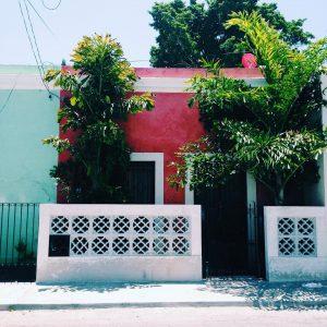 Casas de Merida yucatan ciudad merida mexico