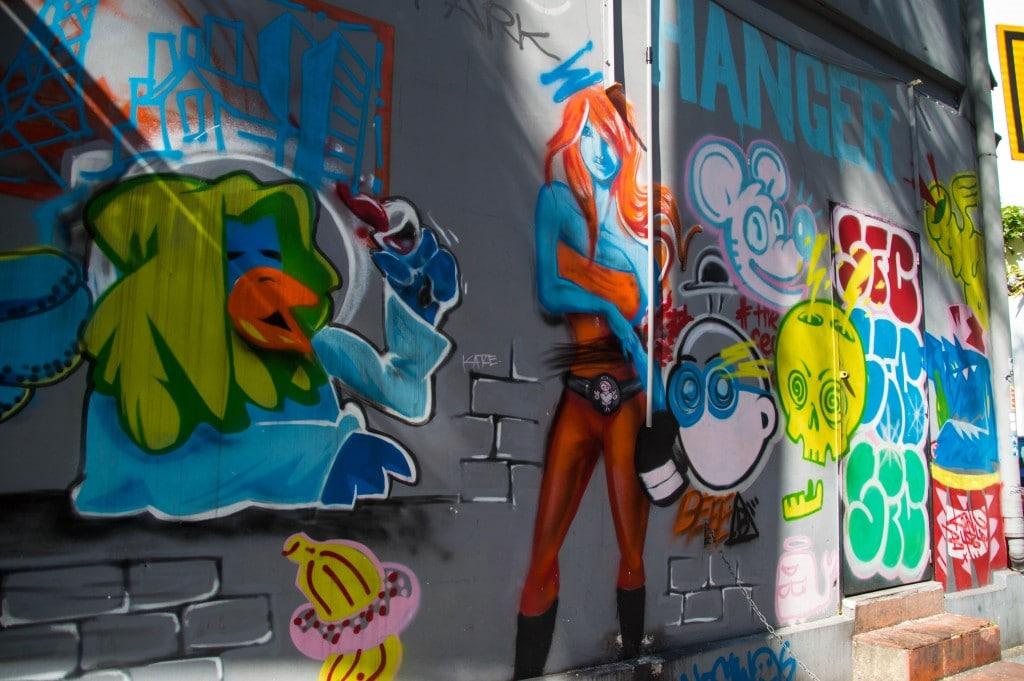 street art butterfly park