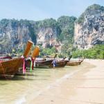 TONSAI BEACH : une plage déserte du côté de Krabi