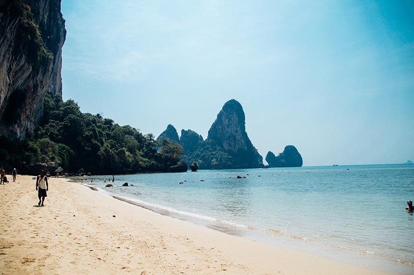 plage tonsai beach thailande