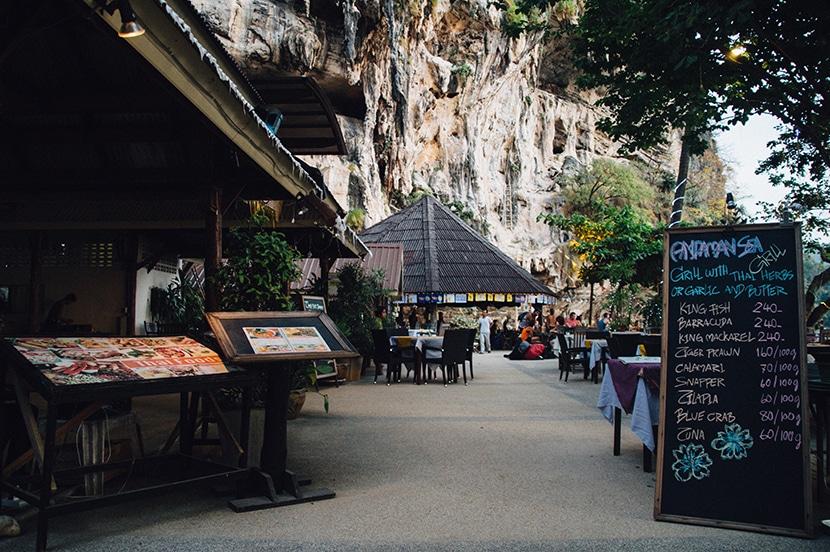 restaurant plage thailande tonsai beach