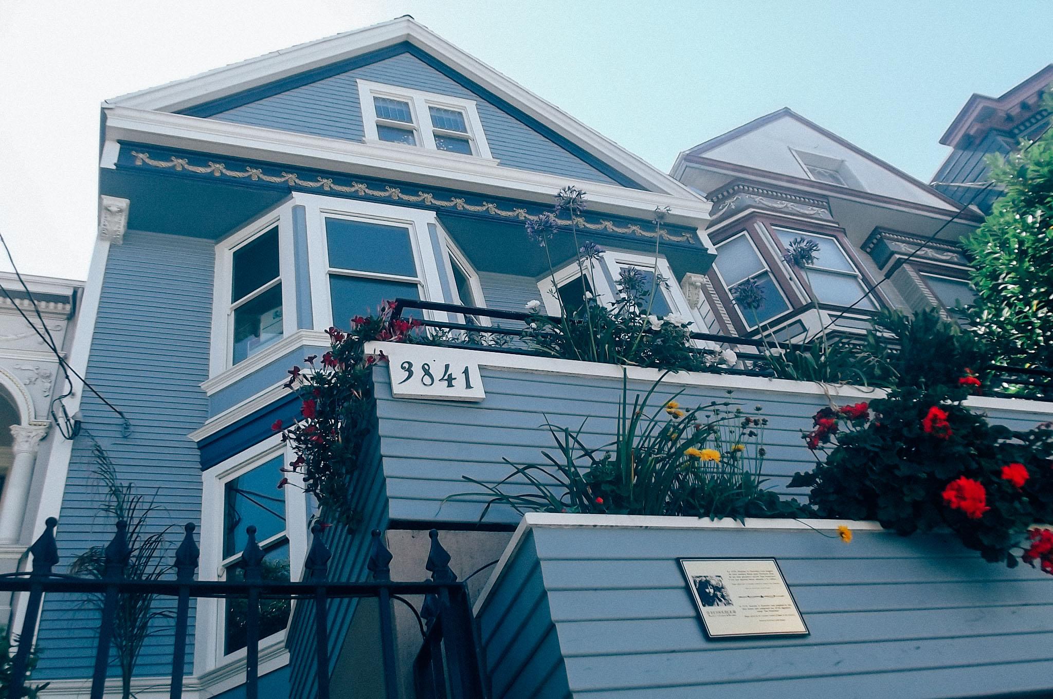 Visiter san francisco en 3 jours les incontournables for Adresse de la maison bleue san francisco