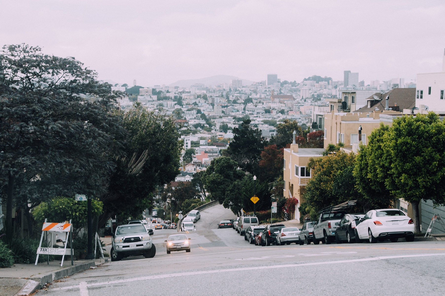 San Francisco route
