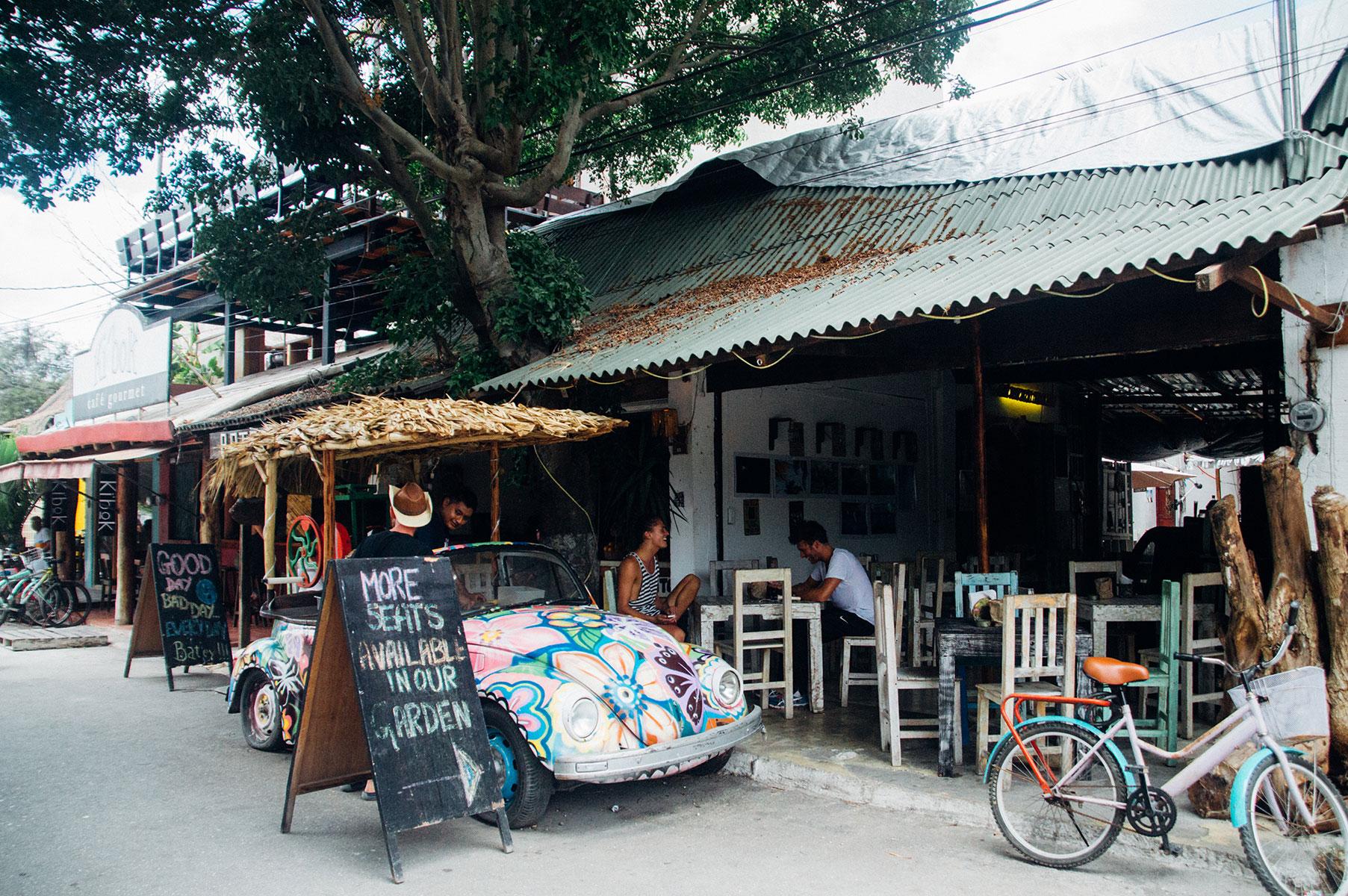 Bar Tulum Mexique