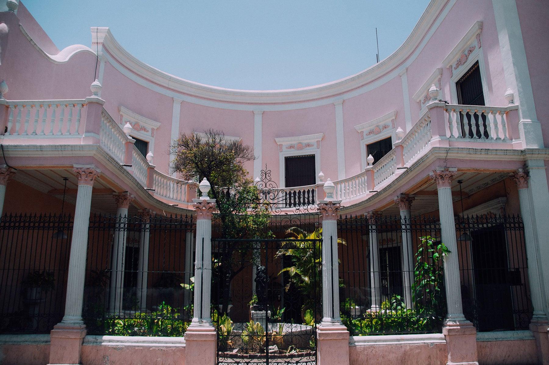 maison colorée Mérida