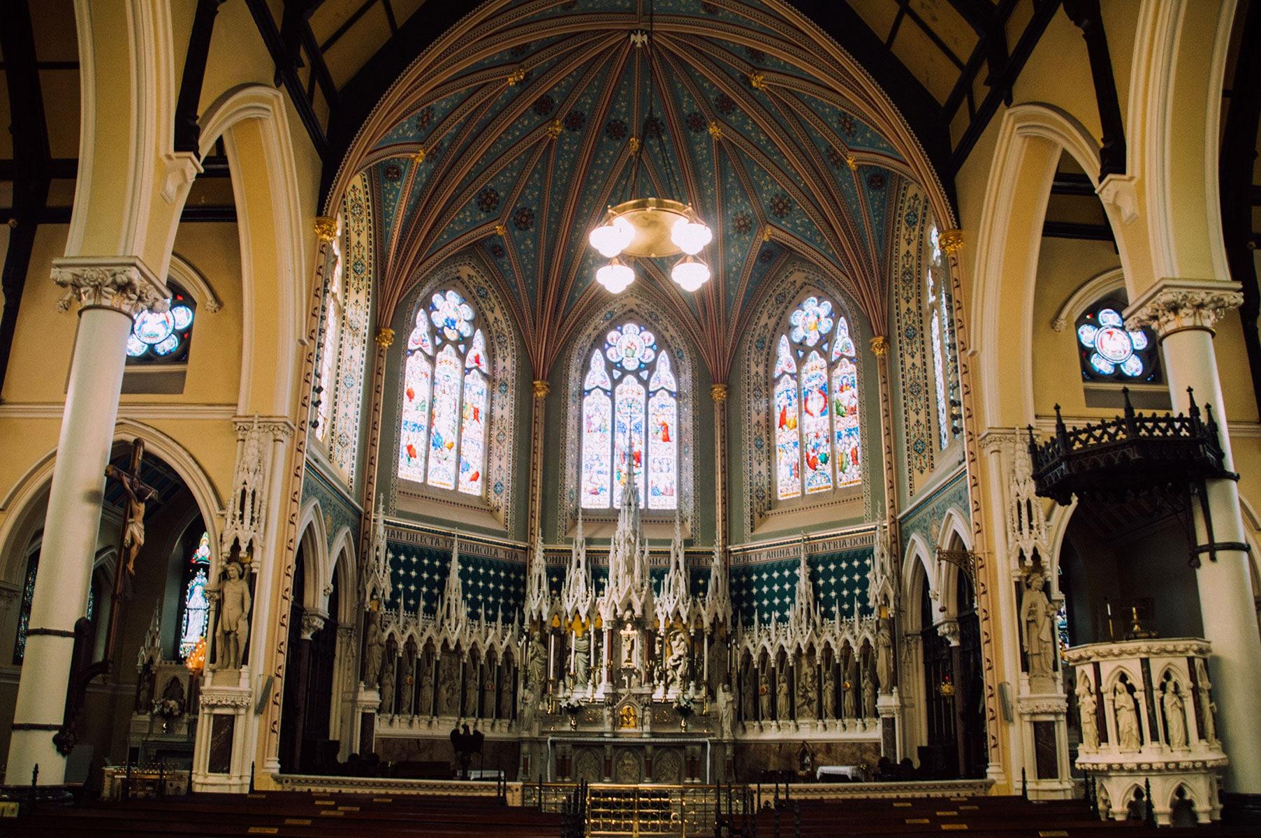 Eglise St Kevin Dublin