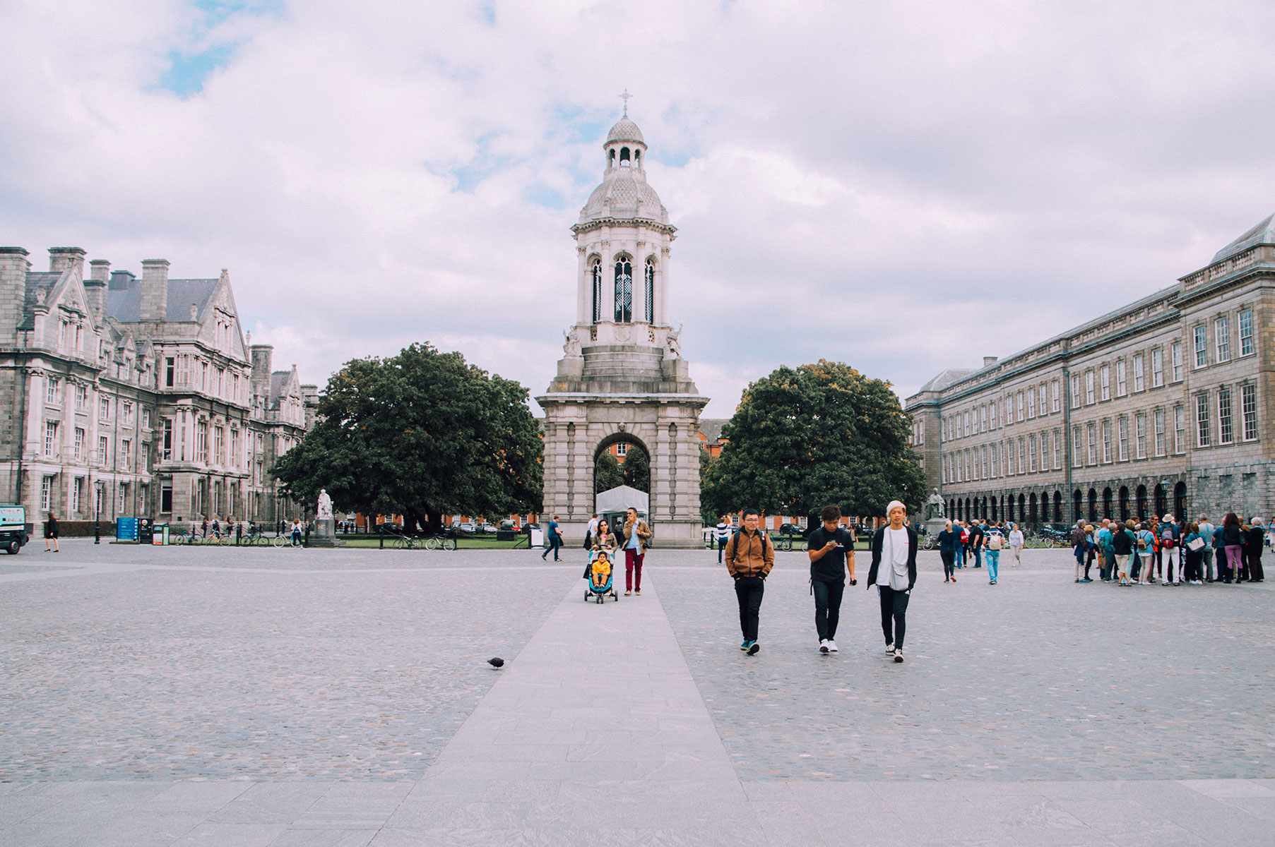 Visiter Trinity College Dublin