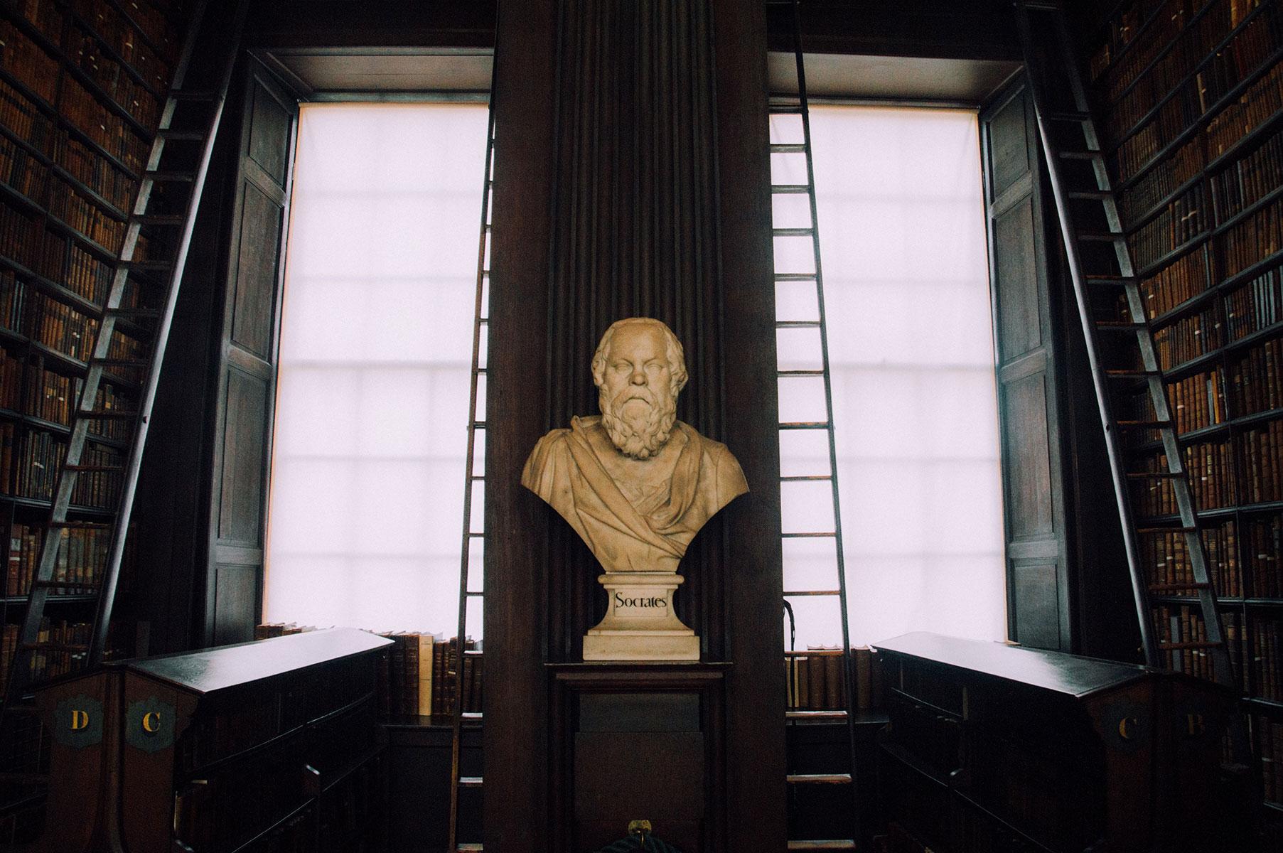Socrate Statue Dublin