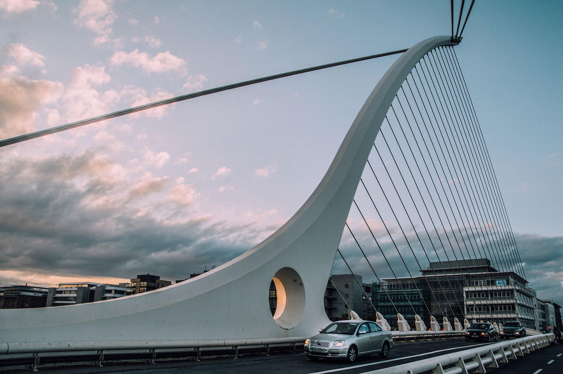Pont harpe Dublin