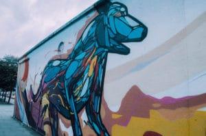 Street Art Chien Dublin