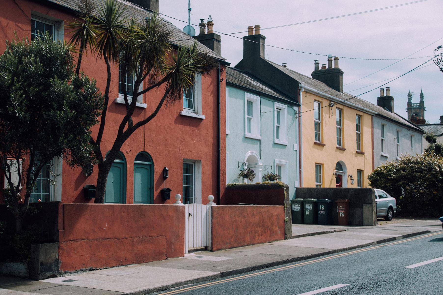 Maison village Howth Irlande