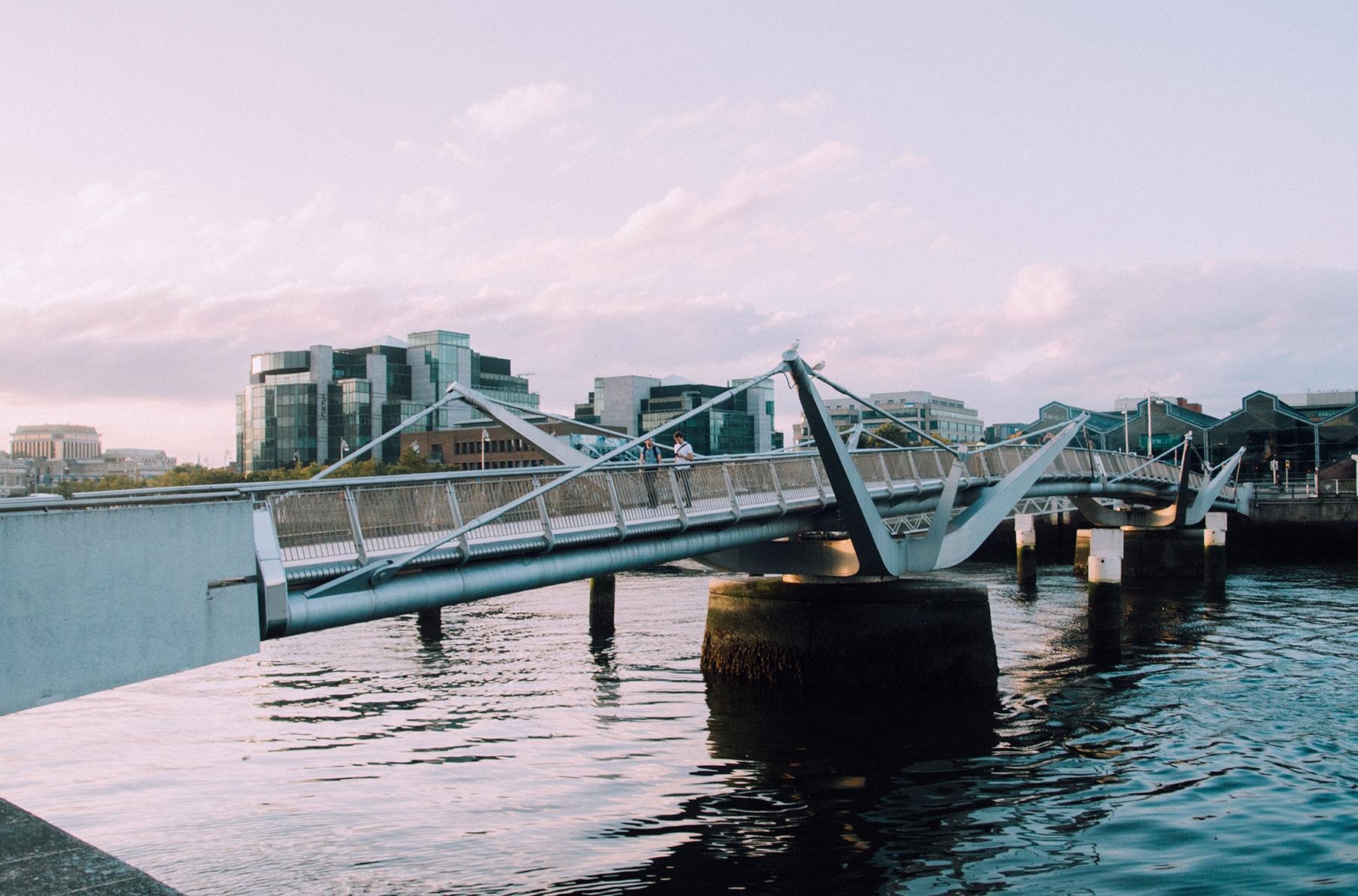 Dublin visite pont