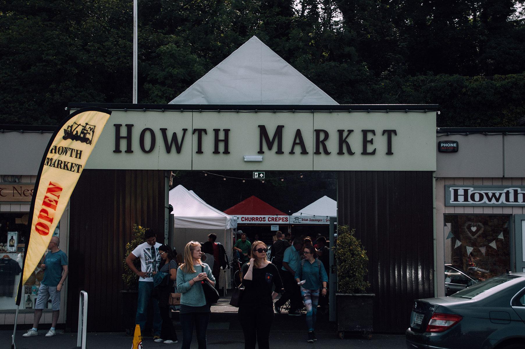 Howth market Voyage Dublin