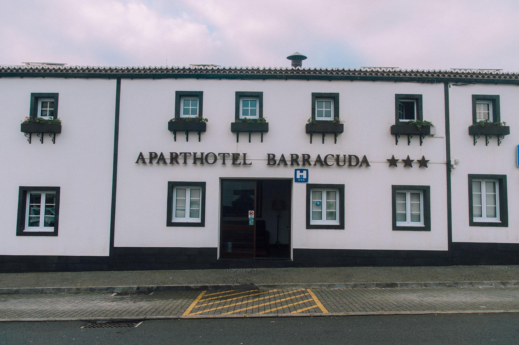 hotel barracuda sao miguel