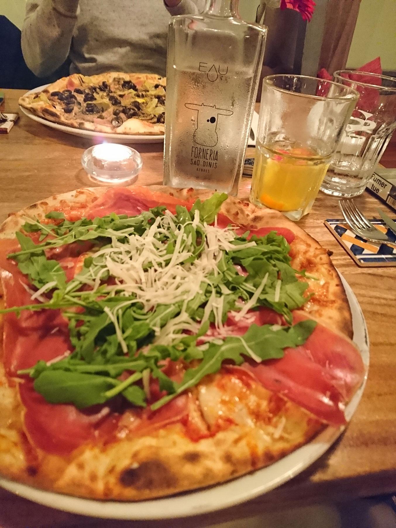 pizza ponta delgada