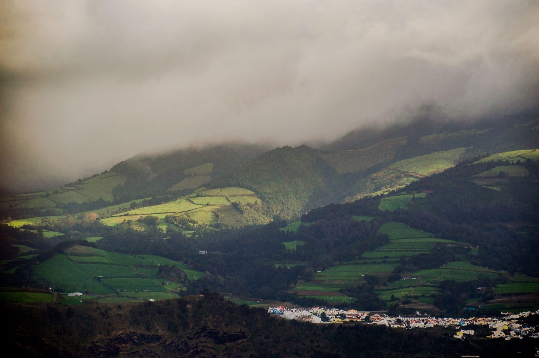 Sao Miguel vue Açores