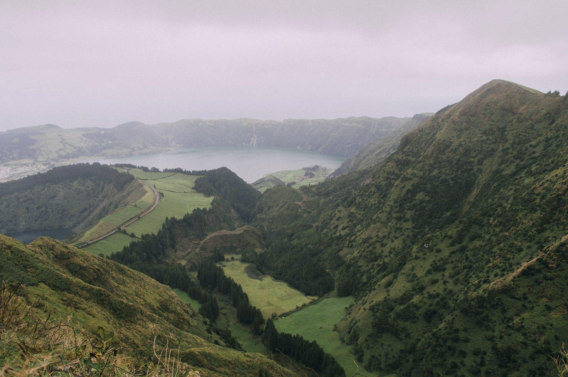 randonnée Açores sete cidades