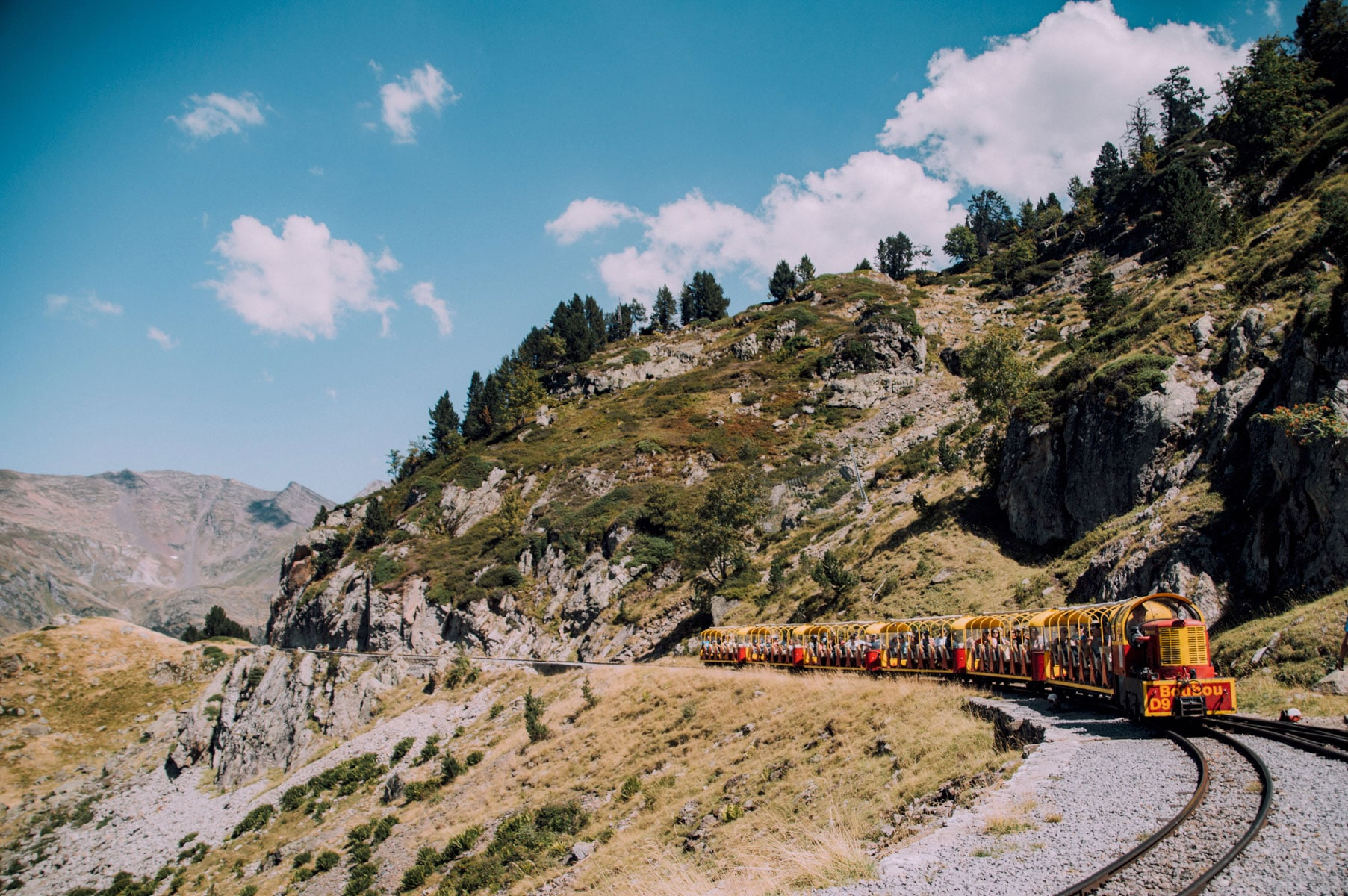 Pyrénées petit train altitude