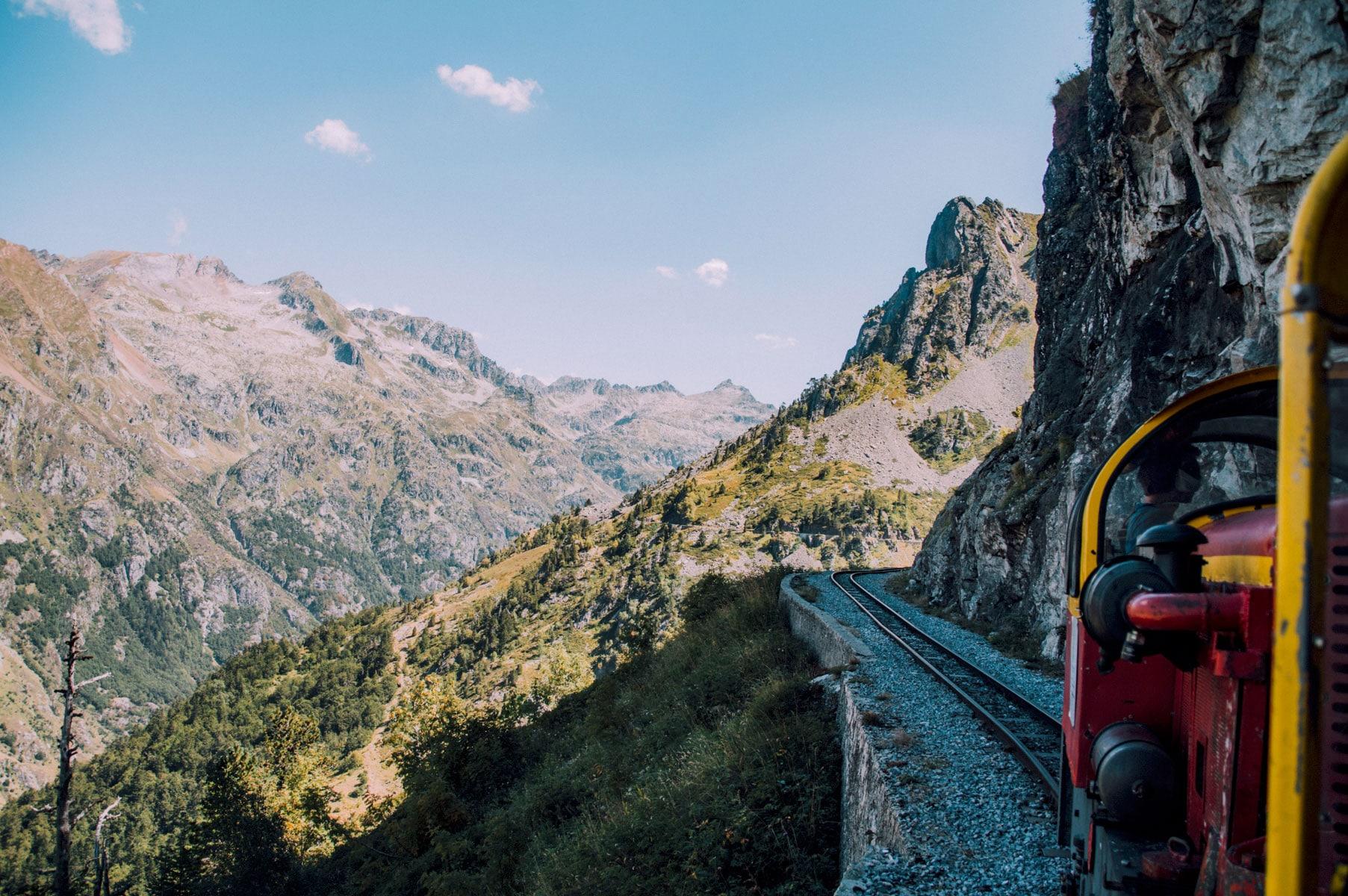 Pyrénées petit train europe