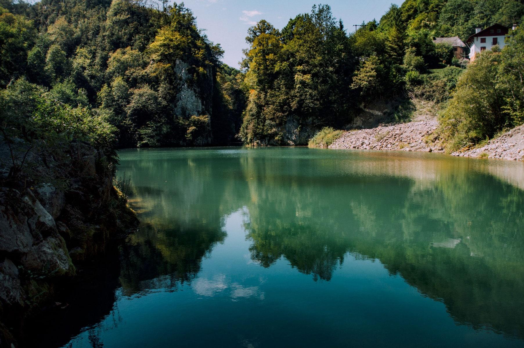 Lac Gorges Kakuetta