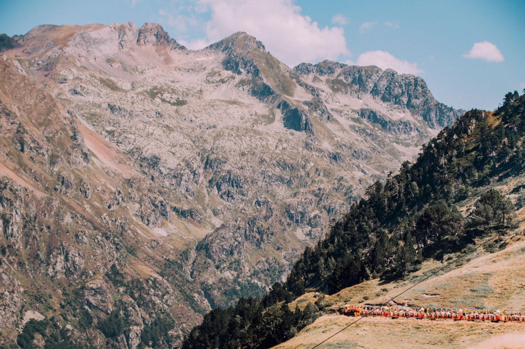 Artouste train montagne Pyrénées