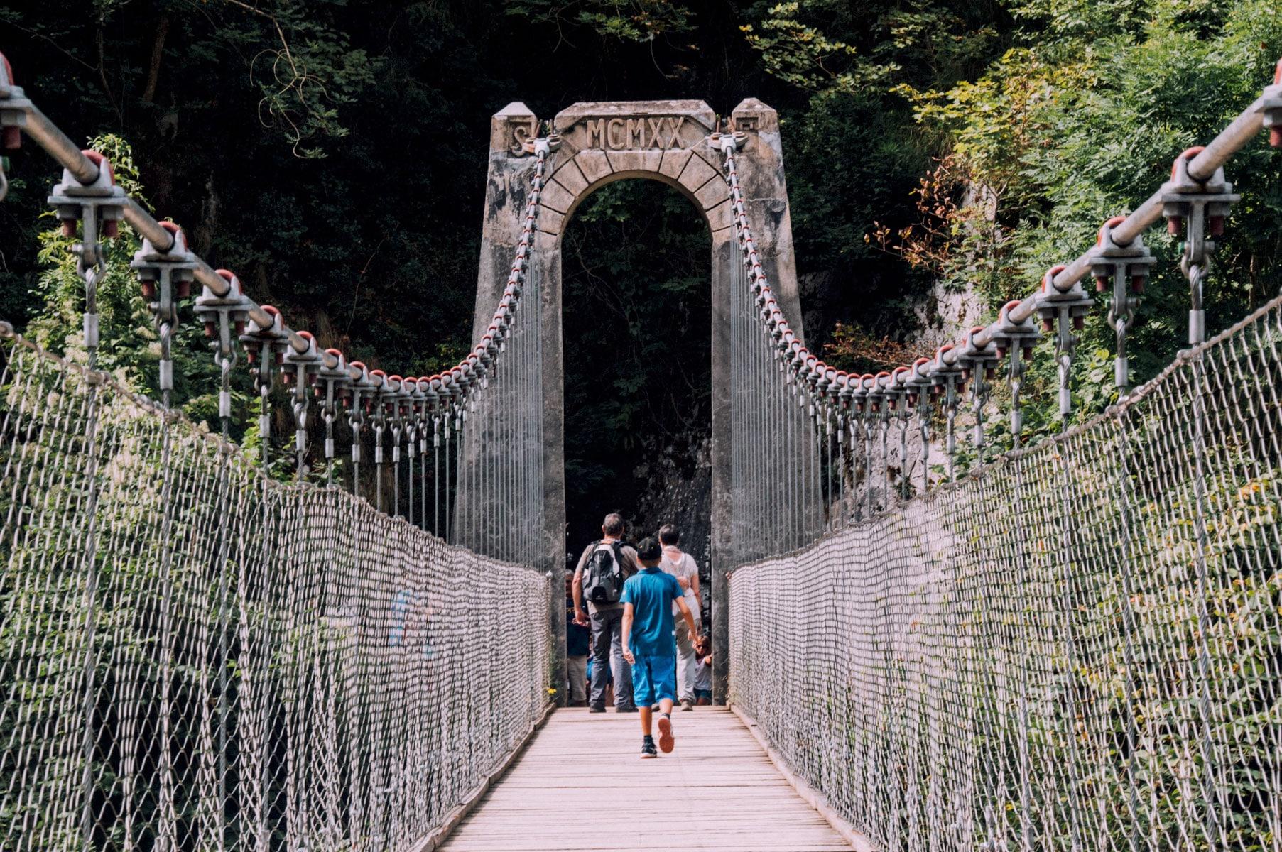 Pont suspendu Holzarte