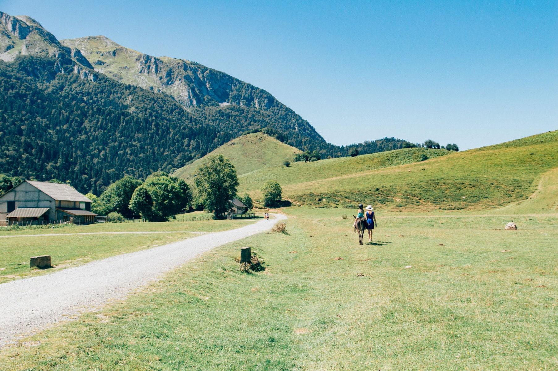 Balade cheval enfants Pyrénées