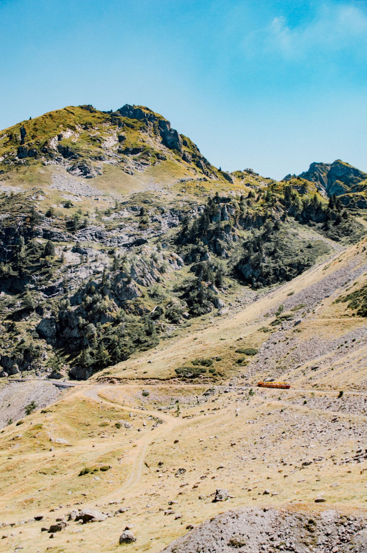 Pyrenees train artouste