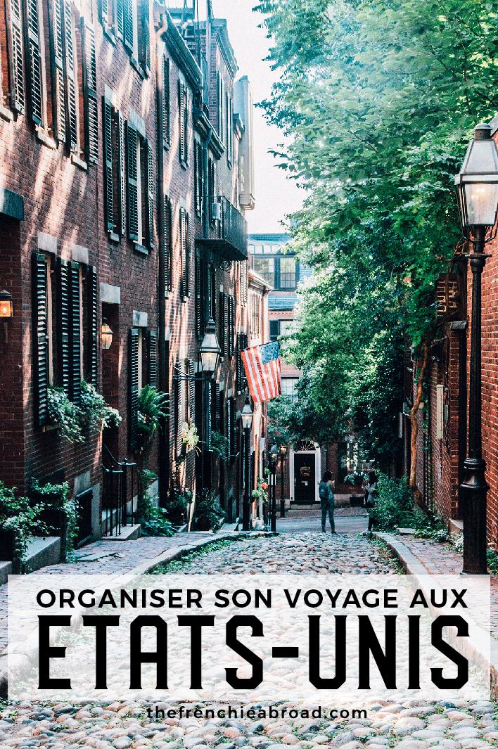 blog organiser voyage USA