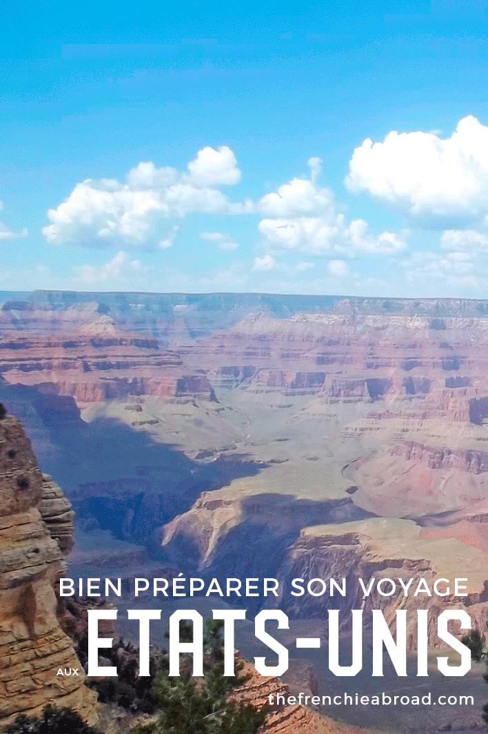 blog préparer voyage états-unis