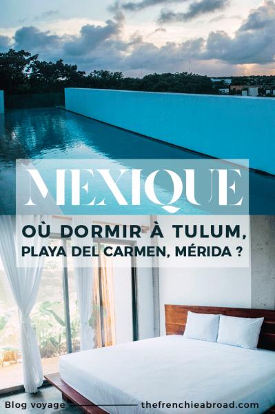 logements yucatan tulum mexique